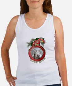Christmas - Deck the Halls - Weimies Women's Tank
