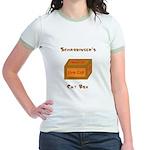 Schrodinger's Cat Box Jr. Ringer T-Shirt