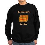 Schrodinger's Cat Box Sweatshirt (dark)