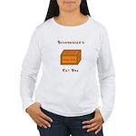Schrodinger's Cat Box Women's Long Sleeve T-Shirt