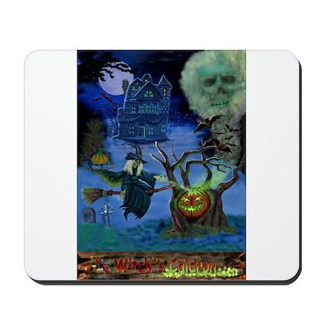 WITCH'S CALDRON Mousepad