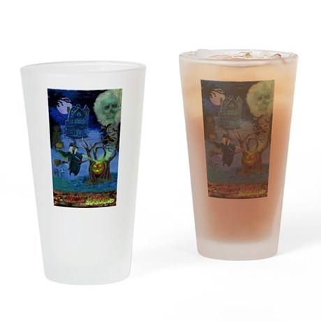 WITCH'S CALDRON Drinking Glass