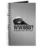 Honey badger Journals & Spiral Notebooks