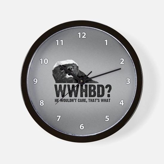 WWHBD Wall Clock