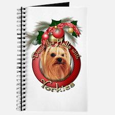 Christmas - Deck the Halls - Yorkies Journal