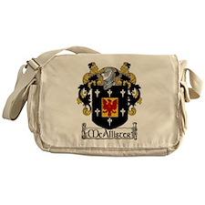 McAllister Coat of Arms Messenger Bag
