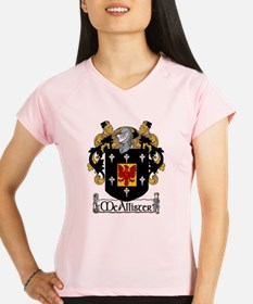 McAllister Coat of Arms Performance Dry T-Shirt