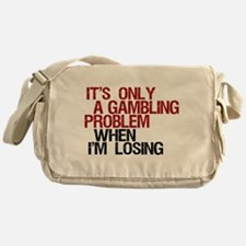 Gambling Problem Messenger Bag