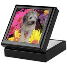 Wheaten Flower Keepsake Box