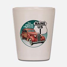 The Maine US Route 1 Shot Glass