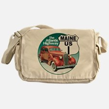 The Maine US Route 1 Messenger Bag