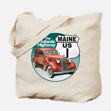 The Maine US Route 1 Tote Bag