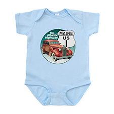 The Maine US Route 1 Infant Bodysuit