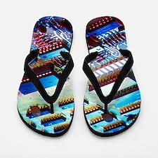 Computer Geek Flip Flops