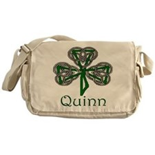 Quinn Shamrock Messenger Bag