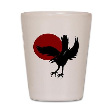 Dark Moon / Black Crow Shot Glass