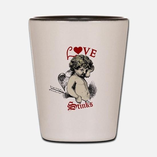 Hilarious valentine Shot Glass