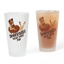 Omnivores Have More Fun Drinking Glass