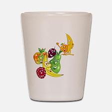 Healthy Happy Fruit Shot Glass