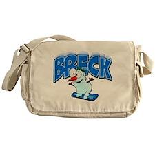 Breck Snowboarder Messenger Bag