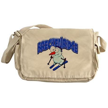 Breckenridge Snowman Messenger Bag
