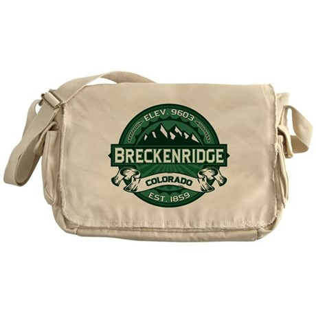 Breckenridge Forest Messenger Bag