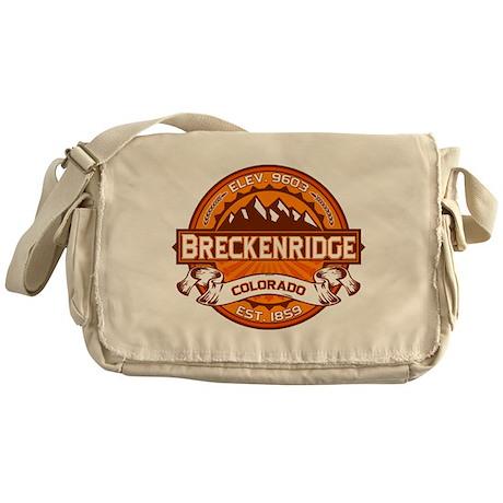 Breckenridge Tangerine Messenger Bag