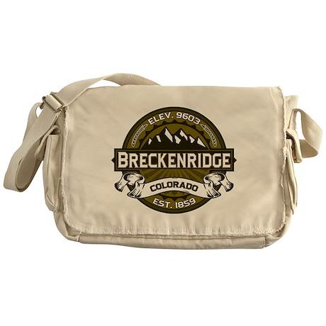 Breckenridge Olive Messenger Bag