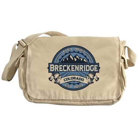 Breckenridge Blue Messenger Bag