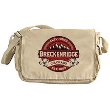 Breckenridge Red Messenger Bag