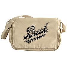 Breck Baseball Logo Messenger Bag