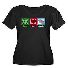 Peace Love Cupcakes T