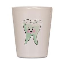 Kawaii Tooth Dental Art Shot Glass