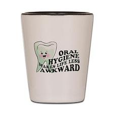 Oral Hygiene Shot Glass