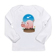 Piggy Long Sleeve Infant T-Shirt