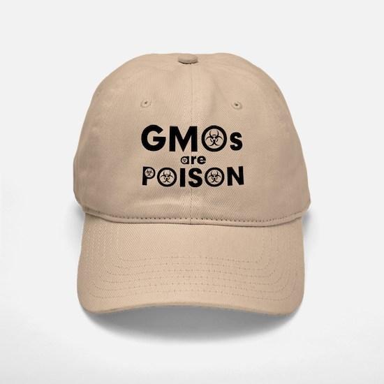 GMOs Are Poison Baseball Baseball Cap