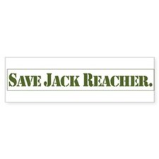 save jack bumper sticker Bumper Bumper Sticker