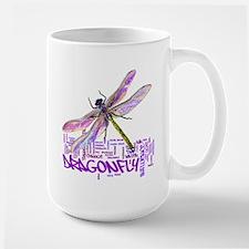 Dragonfly totem Large Mug