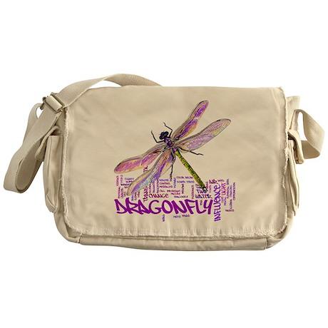 Dragonfly totem Messenger Bag