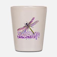 Dragonfly totem Shot Glass