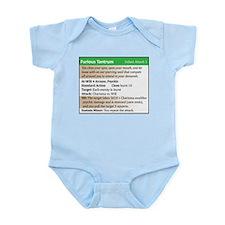 """Furious Tantrum"" Power Card Infant Bodysuit"