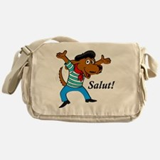French Dog Messenger Bag