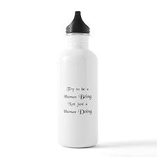 Human Doing Water Bottle