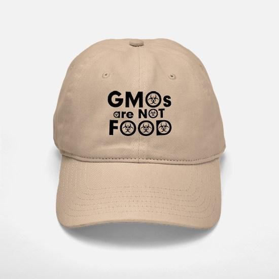 GMOs Are Not Food Baseball Baseball Cap