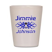 Jimmie Johnson Shot Glass