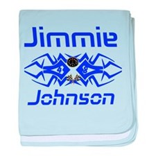 Jimmie Johnson baby blanket