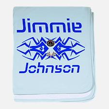 Jimmie Johnson baby blanket
