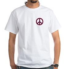 Red&Blue Peace Symbol Shirt