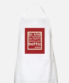 Be Kind by Plato Apron