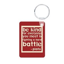 Be Kind by Plato Keychains